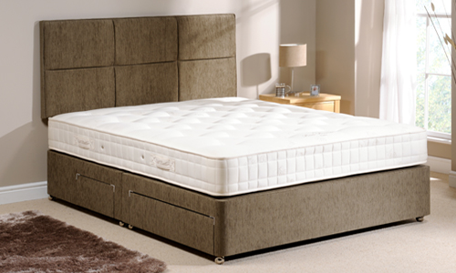 Classic divan bed the bed butler for The range divan beds